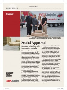 Boxmaster BC Business Article