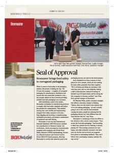 Boxmaster BC Business Article